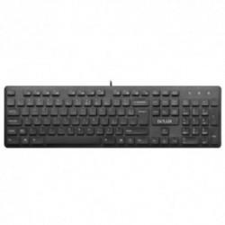 Tastatura Delux KA150U, USB (Negru)