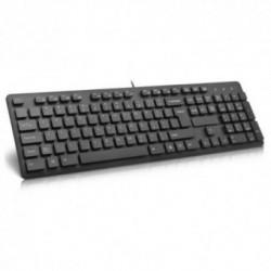 Tastatura Delux KA150P, PS/2 (Neagra)