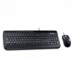Kit tastatura si mouse Microsoft Kit Wired Desktop 600 USB