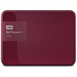 Hard Disk Extern Western Digital My Passport Ultra 3TB USB 3.0 Wild Berry