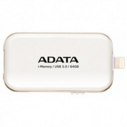 Stick memorie USB A-DATA UE710 64GB USB 3.0/Lightning White