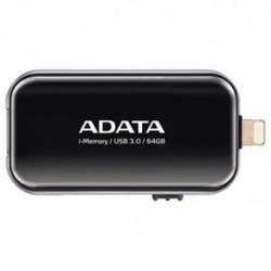 Stick memorie USB A-DATA UE710 64GB USB 3.0/Lightning Black
