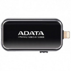 Stick memorie USB A-DATA UE710 128GB USB 3.0/Lightning Black