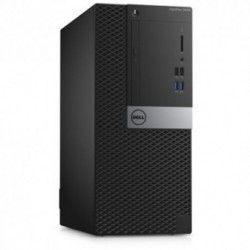 Sistem PC brand Dell OptiPlex 5040 MT, Intel Core i7-6700, 500GB HDD, 8GB DDR3L, Intel HD Graphics 530, Windows 7 Pro + Windows 10 Pro