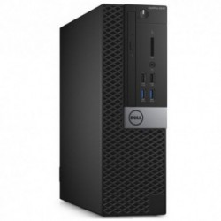 Sistem PC brand Dell OptiPlex 5040 SFF, Intel Core i7-6700, 500GB HDD, 8GB DDR3L, Intel HD Graphics 530, Ubuntu