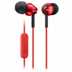 Casti Handsfree Sony MDR-EX110AP (Red)