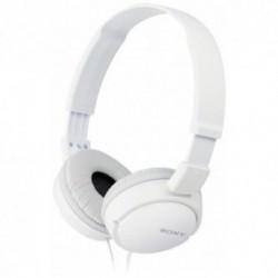 Casti Sony MDR-ZX110W (White)