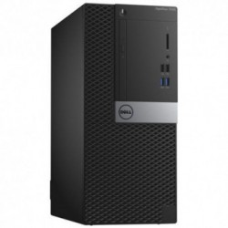 Sistem PC brand Dell OptiPlex 7040 MT, Intel Core i7-6700, 500GB HDD, 8GB DDR4, Intel HD Graphics 530, Ubuntu
