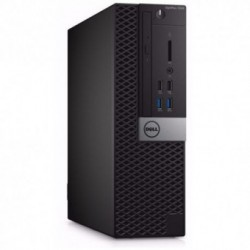 Sistem PC brand Dell OptiPlex 7040 SFF, Intel Core i5-6500, 500GB HDD, 8GB DDR4, Intel HD Graphics 530, Windows 7 Pro + Windows 10 Pro