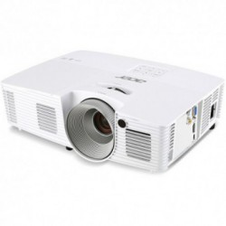 Videoproiector Acer X133PWH, DLP, WXGA (1280x800), 3D ready, 3100 lm, 13000:1, HDMI, Alb