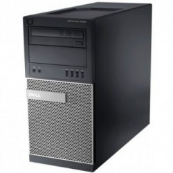 Sistem PC brand Dell OptiPlex 9020 MT, Intel Core i5-4590, 500GB HDD, 4GB DDR3, Intel HD Graphics 4600, Windows 7 Pro + Windows 8.1