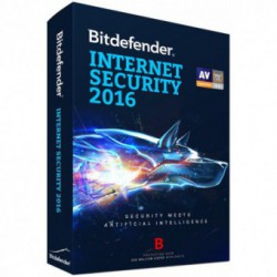 Antivirus BitDefender Internet Security 2016, Licenta noua, Retail, 1 Licenta, 1 An