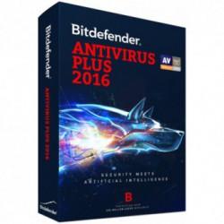 Antivirus BitDefender Antivirus Plus 2016, Licenta noua, Retail, 3 Licente, 1 An
