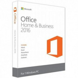 Microsoft Home and Business 2016, [Pentru firme mici], Medialess, FPP, 1 PC, Romana