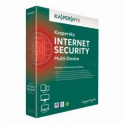 Antivirus Kaspersky Internet Security 2016, Prelungire licenta, Box, 4 Licente, 1 an