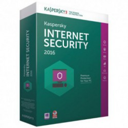 Antivirus Kaspersky Internet Security 2016, Licenta noua, Box, 5 Licente, 1 an