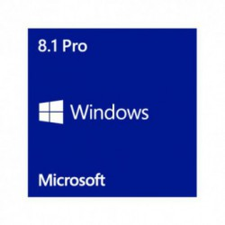 Sistem de operare Microsoft Windows 8.1 Pro, OEM, 64-bit, Engleza