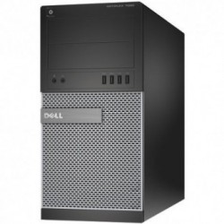 Sistem PC brand Dell OptiPlex 7020 MT, Intel Core i7-4790, 8GB DDR3, 500GB HDD, Intel HD Graphics 4600, Windows 7 Pro