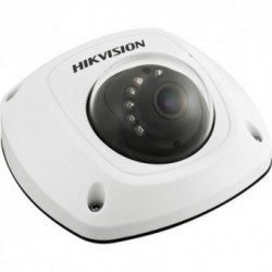 Camera IP Hikvision DS-2CD2522FWD-IWS4, Mini Dome, 2MP, Full HD, Wi-Fi, Audio, MicroSD, Exterior, Alb