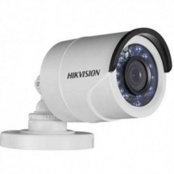 Camera analogica Hikvision DS-2CE16C2T-IR 2.8, Bullet, HD720p, IR, Exterior, Alb