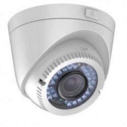 Camera analogica Hikvision DS-2CE56C2T-VFIR3, Dome, HD 720p, IR, Exterior, Alb