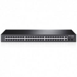 Switch TP-LINK TL-SL2452, 48 porturi 10/100Mbps + 4 porturi 10/100/1000Mbps
