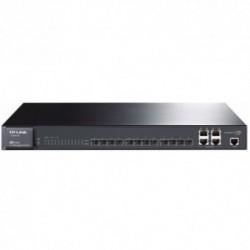 Switch TP-LINK TL-SG5412F, 12 porturi SFP, 4 porturi Gigabit
