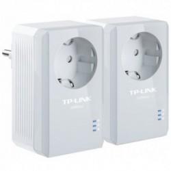 PowerLine TP-LINK TL-PA4010PKIT, Port Ethernet, Max. 500Mbps, Priza, Kit 2 adaptoare