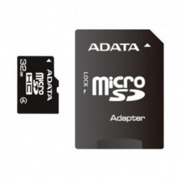Card memorie A-DATA MicroSDHC 32GB Class 4 (Adaptor SD)