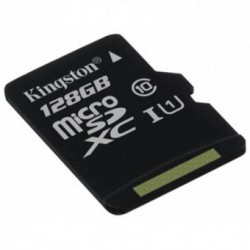 Card memorie Kingston MicroSDXC 128GB Clasa 10 UHS-I