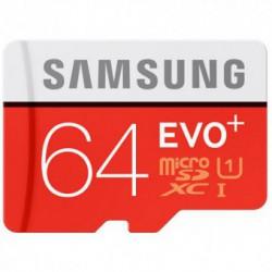 Card memorie SAMSUNG MicroSDXC Evo Plus 64GB Clasa 10 UHS-I [Adaptor SD]