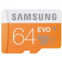 Card memorie SAMSUNG MicroSDXC 64GB Class 10 EVO UHS-1