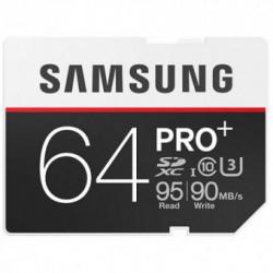 Card memorie SAMSUNG SDXC PRO Plus 64GB Clasa 10 UHS-I