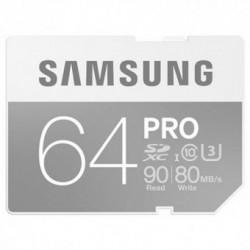 Card memorie SAMSUNG SDXC PRO 64GB Clasa 10 UHS-I