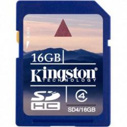 Card memorie Kingston SDHC 16GB Class 4