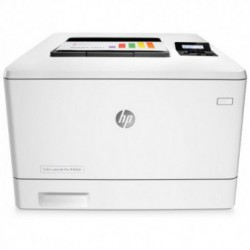 Imprimanta laser color HP Color LaserJet Pro M452dn, Format A4, Retea