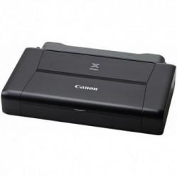 Imprimanta foto Canon Pixma iP110, Format A4, Jet de cerneala, Rezolutie 9600x2400 dpi, Wireless, Baterie Li-ion LK-62 inclusa