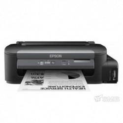 Imprimanta cu jet Epson WorkForce M100, A4, Monocorm, 1440x720 dpi, 34 ppm, Retea, (Negru)