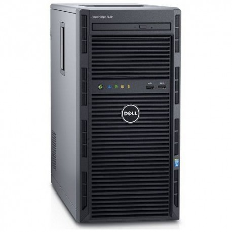 Server Dell PowerEdge T130, Intel Xeon E3-1230 v5, 1TB HDD, 8GB UDIMM DDR4