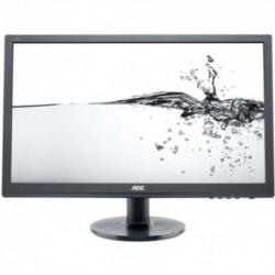 Monitor LED AOC e2260Swda, 21,5 inch, 1920 x 1080, 5 ms, DVI x1, VGA x1 (Negru)