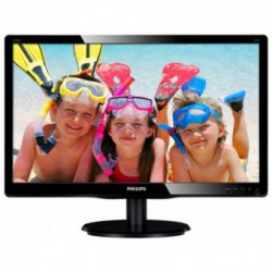 Monitor LED Philips V-line 220V4LSB/00, 22 inch, 1680x1050, 5ms, D-Sub, DVI-D, Negru