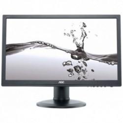 Monitor LED AOC E2260PDA, 22 inch, 1680x1050, 5ms, D-Sub, DVI, Boxe integrate, Pivot, Negru