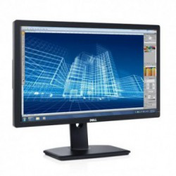 Monitor LED Dell U2713H, 27 inch, 2560 x 1440, IPS, 6 ms, DVI-D, DisplayPort, mini DP, HDMI, 3x USB 3.0, Negru