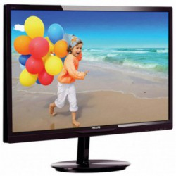 Monitor LED Philips 284E5QHAD/00, 28 inch, 1920 x 1080, 4ms GTG, VGA, HDMI, MHL, Boxe integrate, (Negru)