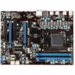 Placa de baza MSI 970A-G43, Soket AM3+, Chipset 970+SB950, 2x PCI-E x16 2.0, 6x SATA 3, 2x USB 3.0, ATX