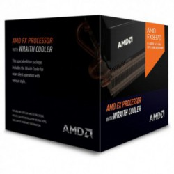 Procesor AMD FX X8 8370, AM3+, 8 nuclee, Frecventa 4.0 GHz, Turbo 4.3 Ghz, Cache L3 8MB, Box [Low noise fan]