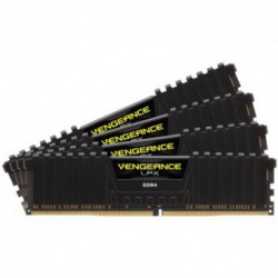 Memorie Corsair DDR4 32GB (4 x 8GB) 2666MHz CL16 Vengeance LPX Black
