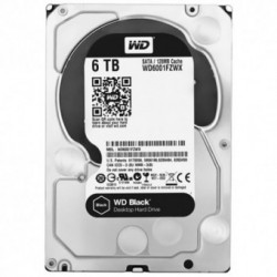 Hard Disk Western Digital Black 6TB SATA3 128MB