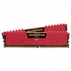 Memorie Corsair DDR4 16GB (2 x 8GB) 2400MHz CL14 Vengeance LPX Red