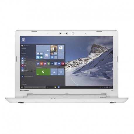 "Laptop Lenovo IdeaPad 500-15ISK cu procesor Intel® Core™ i7-6500U 2.50GHz, Skylake™, 15.6"", Full HD, 4GB, 1TB, DVD-RW, AMD Radeon™ MESO XT 4GB, Windows 10, White"